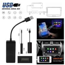 12 В USB ключ для Apple iOS CarPlay навигационная система для Android плеер черный usb-кабель для iPhone и Android смартфон продвижение VODOOL 32978904510
