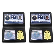 Реквизит для ролевых игр сериал «Сверхъестественное» Дин Винчестер Сэм Винчестер FBI держатель карточек полицейский ID карты Косплей обучающая игрушка MINOCOOL 33001338867