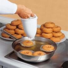 Кухня пончик вафельница диспенсер пластик легкий для жарки во фритюре форма для пончиков легко быстро портативный арабский вафельница машина для приготовления пончиков No name 32950410153
