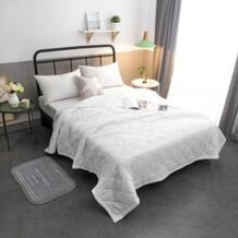 2019 Новое однотонное розовое белое летнее одеяло покрывало для кровати одеяло домашний текстиль подходит для детей No name 32811577030