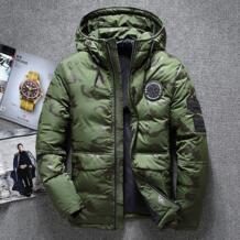 Новая зимняя теплая белая пуховая верхняя одежда мужская куртка толстые зимние парки пальто с капюшоном мужская повседневная теплая ветрозащитная пуховая куртка для мужчин Asstseries 32894858689