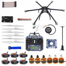 Шестиосный гексакоптер в разобранном виде Дрон с GPS комплект с Flysky FS-i6 6CH 2,4G TX/RX APM 2,8 система управления полетом мультикоптера с F10513-F jmt 32770101647