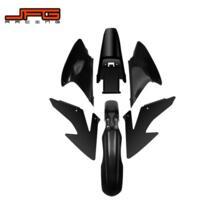 Мотоцикл Полный всего тела Пластик комплект Fender Farings для HONDA CRF230F CRF150F CRF230 F CRF150 F 2008 2009 2012 2013 2014 JFG RACING 32831105025