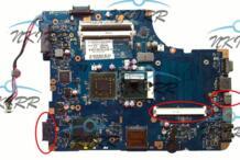 """17 """"KSWAA LA-4982P K000086430 L03 материнская плата HDIM DDR3 MXM для Toshiba satellite L505 L500 L550 L555 для LS-5001P NKIRR 32950141621"""