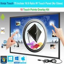 75 дюймов 10 сенсорных точек 16:9 соотношение ИК сенсорная рамка панель/сенсорный экран наложения комплект Plug & Play (без стекла) Xintai Touch 32965189483
