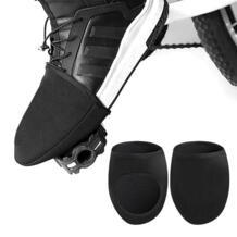 1 пара MTB дорожный велосипед закрытые туфли на половину ладони/ступни Toe Блокировка ветрозащитный чехол от дождя на велосипед случае загрузки велосипедные камеры оборудования No name 32970411490