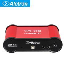 Alctron U24TWIN двойной 2 Каналы внешняя звуковая карта компьютера телефона звуковая карта с USB Порты и разъёмы No name 32888659024