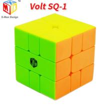 Qiyi X-MAN вольт SQ-1 Stickerless квадратный один SQ1 Mofangge Cubo Magico, пазл, Обучающие игрушки, подарки Прямая доставка квадратная-1 шт. XMD 32810594861