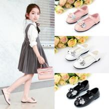 2017 детская обувь; тонкие туфли для девочек; детская обувь для девочек; обувь принцессы; сезон весна осень; детская танцевальная обувь для девочек-in Кожаная обувь from Мать и ребенок on Aliexpress.com | Alibaba Group JUNSHANANGEL 32803758671