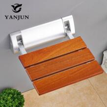 складное кресло для ванной, сиденье для душа, настенный релаксационный стул для душа, однотонное сиденье, спа-салон, экономичная YJ-2040 для ванной комнаты yanjun 32813812493
