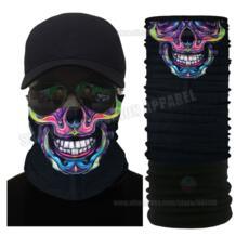 Осенне-зимняя многофункциональная защищающая маска «Череп» уличная флисовая бандана мотоциклетный шарф маска Polartec Многофункциональный головной убор Kas noel 32804765166