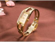 2016 модные брендовые женские модные роскошные женские золотые часы из нержавеющей стали женское платье кварцевые часы-браслет relogios femininos CYD CHAOYADA 32689189884