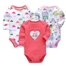 Для новорожденных гимнастический костюм детская одежда хлопок средства ухода за кожей Детские Нижнее белье с длинным рукавом Одежда для мальчиков и девочекодежда tender Babies 32828568498