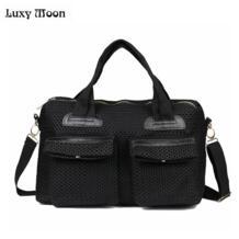Luxy Moon женская сумка Мода Повседневная сумка большая сумка женские сумки через плечо BOLSOS выдалбливать сумки путешествия Bolsas No name 1610024365