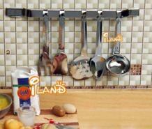 1/12 Dollhouse Miniatures Серебряный Кухня Столовая посуда Кук посуда Совок 6 шт. dk002b No name 1333140788