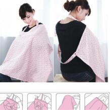 Для новорожденных медсестра одежды Materity хлопковая накидка для кормящих матерей Для женщин накидка для груди кормление грудью детское одеяло ткань No name 32819098526