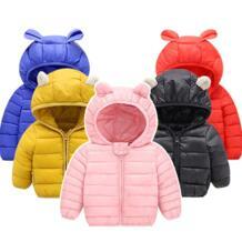 Пальто для маленьких девочек коллекция 2019 года, осенне-зимняя куртка для маленьких мальчиков и девочек детская теплая верхняя одежда, пальто для малышей, куртка Одежда для новорожденных KEAIYOUHUO 32890027551