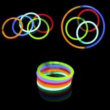 10 шт./компл. смешно свечение света флуоресценции Щупы для мангала Браслеты Ожерелья для мужчин Neon для детей с подсветкой игрушки новинка ночник No name 32795483714