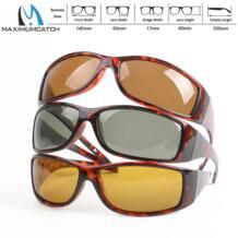 Maximumcatch черепаховая оправа Fly Fishing поляризованные солнцезащитные очки коричневый желтый и серый на выбор солнцезащитные очки для рыбалки No name 32678982320