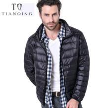 2018 новый мужской осенне-зимний Сверхлегкий мужской пуховик на 90% белом утином пуху, зимнее пуховое пальто, непромокаемые пуховые парки, верхняя одежда TIAN QIONG 32903978853