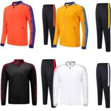 Для мужчин футбольный костюм 2019 для мужчин футбольная тренировочная куртка спортивные костюмы для взрослых Униформа на заказ комплекты зимние виды спорта 6809 No name 32965771328