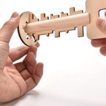Деревянная игрушка разблокировать головоломки ключ классической Смешные Kong Ming замковые игрушки интеллектуальная развивающая Забавные игрушки высокое качество MYPANDA 32669640562