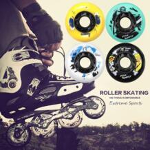 8 шт./компл. 85A скейт колеса роликовые коньки колеса высокий качественный ролик колеса для слалома/тормозной ролик скейт обувь колеса Fox Smiling 32891795010