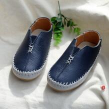 Распродажа обувь для детей мальчиков обувь Мягкие Мокасины Сапоги из высококачественной кожи Лоферы без застежки No name 32872383100