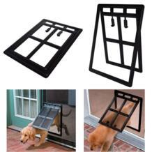 Полезные интересно ПЭТ двери Пластик безопасности лоскут кошка собака ворота дома щенок туннель забор Экран окна, двери LXY9 AU16 No name 32911180909