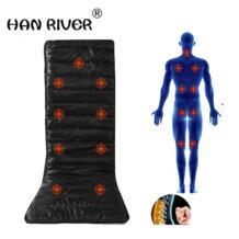 Вибрационный массаж матрас DC12V массажная подушка диван-кровать электронная Массажная терапия кровать расслабляющий массаж massageador No name 32758779008