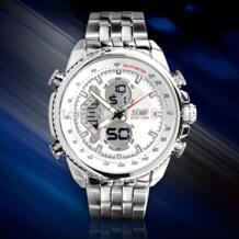 Роскошные несколько раз зоны Водонепроницаемый аналоговые цифровые спортивные часы Для мужчин-in Кварцевые часы from Ручные часы on Aliexpress.com | Alibaba Group EHOUR/易昊尔 2039324065