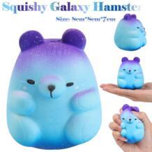 Squish антистресс 8 см Животные Squishies галактика хомяк Squishies медленный рост Squeeze душистый стресс снимает игрушки для детей yanyuchen 32918374460
