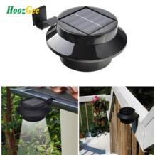 HoozGee Солнечный свет Забор Открытый садовый сарай настенный светильник путь свет безопасности с 3 светодио дный Водонепроницаемый практические Классический Горячий No name 32846675070