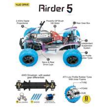 GP игрушки RC автомобили Rirder 5 джипы, удаленного Управление Грузовик Off Road Мотоцикл Открытый игрушки, RTR мини rc игрушки 4WD высокое Скорость A No name 32643904009