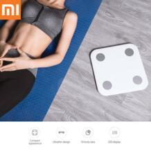 100% оригинал Сяо mi масштаба mi Smart 2 Bluetooth 4,0 здоровье тела масштаба Smart Digital персональный инструмент весом международная версия No name 32855948240