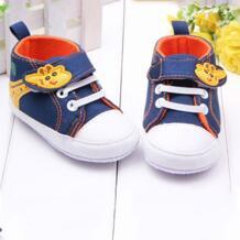 Детская обувь с изображением жирафа для мальчиков из плотной ткани с защитой от скольжения для детей, на мягкой подошве для малышей, которые делают первые шаги малыша обувь pgm 32428451255
