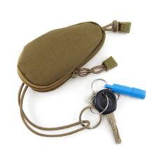 Ткань Оксфорд Водонепроницаемая износостойкая камуфляжная тактическая аксессуары с зажимом Поклонники военного стиля сумка для ключей LXX9 PEAKINBAGS 32798214154
