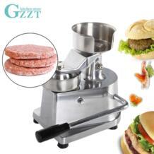 GZZT пресс для мяса гамбургер Пресс Maker руководство гамбургер пирожок Burger Пресс машины диаметр 130 мм инструменты для мясной промышленности и птицеводства No name 32830245377