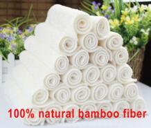 16 x 18 см 12 шт. белый цвет высокая эффективная анти жирной бамбуковое волокно мытье рук блюдо ткань для очистки и wipping тряпка тряпкой для мытья посуды No name 697340266