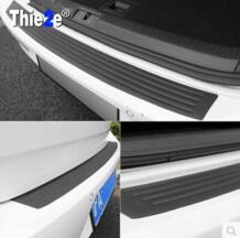 Автомобиль задний бампер потертости защитный подоконник крышка для Hyundai Мистра, Tucson, Santa Fe, Veloster, rohens купе, Azera, Avante Thie2e 32793042228