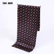 Шелковый галстук с принтом Пейсли шарф люксовый бренд мужские шарфы, сатин, Ретро мягкий скутер бандана узор мужские платки и обертывания Leo anvi 32789823328