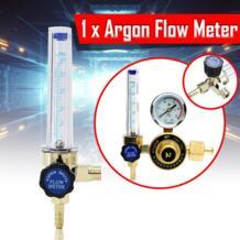 7 мм Барб 1/4PT 0,15 МПа миг расходомер газа аргона AR/CO2 регулятор сварки прозрачный золото 16,5x5,5 см для газа Ar ZEAST 32905155527