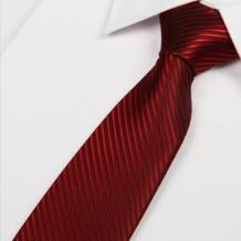 Галстук бордовый | Мужской Шелковый 2014 Новый красный шелковый галстук в полоску 8 см деловой галстук роскошные lotes SHENNAIWEI 32218447725