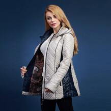 2017 Весна новое поступление куртка с коттоновой подкладкой женские средние и длинные тонкие стеганая куртка Свободная куртка с коттоновой подкладкой с капюшоном V305 DHfinery 32696639832