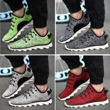Канье уэст Yeezy 350 кроссовки низкая верхний свободного покроя шнуровкой лезвие подошвой спорт обувь зеленый бег обувь No name 32415719034