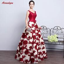 Платья для матери невесты на свадьбу плюс размер сексуальное вечернее платье жениха крестная мать ужин платья 2018 Aroundyou 32957551995