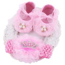Обувь для маленьких девочек с мягкой подошвой, хлопковая обувь для малышей с цветочным рисунком, обувь для маленьких девочек, комплект из обуви для девочек, тканевые детские пинетки, scarpe neonata botas bebe pompomkid 32690585995