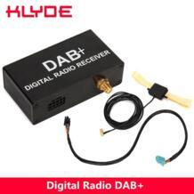 внешний DAB добавить DAB + цифровой радио коробка приемник с сенсорным управлением для Android 8,1/6,0/8,0/7,1 автомобильный Радио для Европы только KLYDE 32848949738