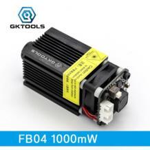 , 445nm 1000 МВт лазерный модуль 12VDC для DIY гравировка гравер машина Поддержка ttl/ШИМ Мощность регулируемые фокус FB041000 GKTOOLS 32807171032