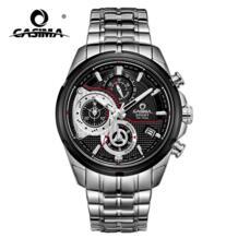 Элитный бренд спорт Для мужчин часы кварцевые часы Повседневное очарование световой календарь Дисплей светящиеся стрелки Водонепроницаемый 100 м #8303 Casima 32617235795
